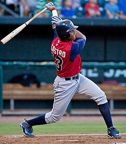 Starlin Castro has exploded onto the scene for the Chicago Cubs.