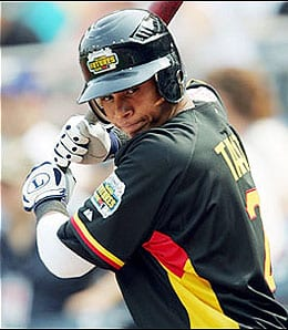 Jose Tabata is the new lead-off man for the Pittsburgh Pirates.
