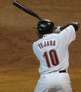 The San Diego Padres added Miguel Tejada for the stretch run.