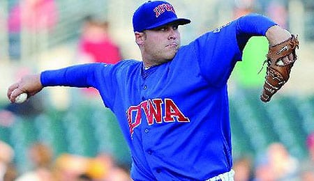 Thomas Diamond had an excellent debut for the Chicago Cubs.