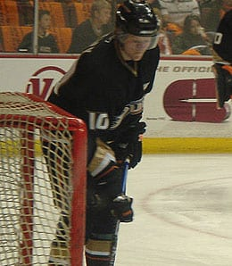 Corey Perry led the Anaheim Ducks in scoring last season.
