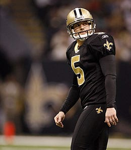 Garrett Hartley is off to a lousy start for the New Orleans Saints.