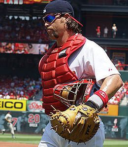 Jason LaRue has called it a day for the St. Louis Cardinals.
