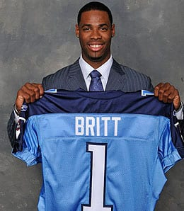 Kenny Britt will start for the Tennessee Titans again this week.