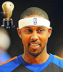 Larry Hughes barely got on the court for the New York Knicks.