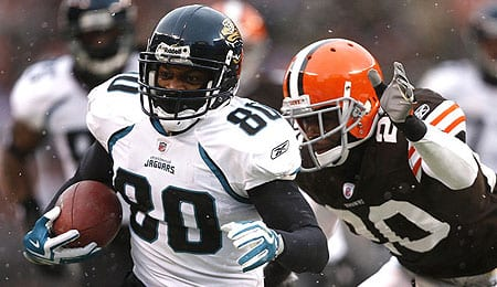 Mike Thomas has been the top target for the Jacksonville Jaguars.