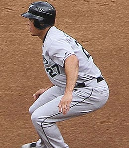 Mike Stanton enjoyed a strong rookie season for the Florida Marlins.