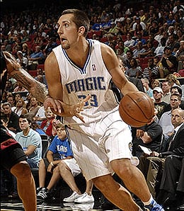 Ryan Anderson has been on fire for the Orlando Magic.