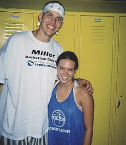 Mike Miller is doing a great job on the glass for the Miami Heat.