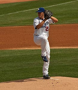 Clayton Kershaw has become the ace of the Los Angeles Dodgers.