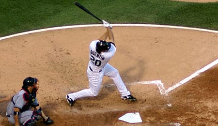 Carlos Quentin has been raking for the Chicago White Sox.