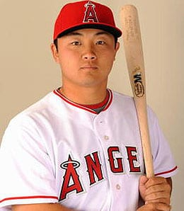 Hank Conger is trying to take over as the main catcher for the Los Angeles Angels.