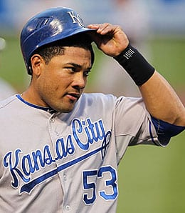 Melky Cabrera is having a nice season for the Kansas City Royals.