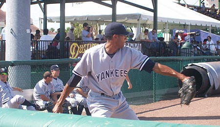 D.J. Mitchell is having a nice year at Triple-A for the New York Yankees.