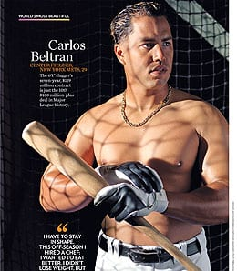 Carlos Beltran has moved west to the San Francisco Giants.