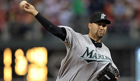 Edward Mujica has been brilliant for the Florida Marlins.