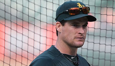 Josh Willingham has been hitting well for the Oakland Athletics.