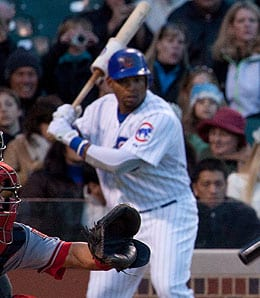 Marlon Byrd is having a nice season for the Chicago Cubs.