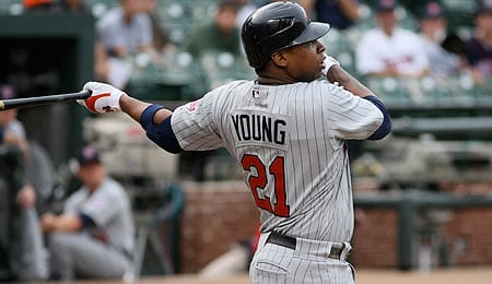 Delmon Young was a real difference maker for the Detroit Tigers.