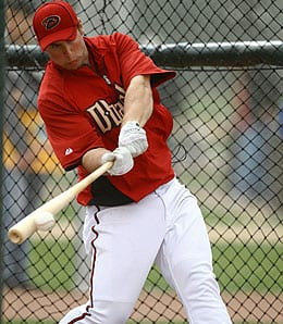 Paul Goldschmidt flashed serious power for the Arizona Diamondbacks.