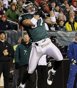 Brent Celek has been a big part of the Philadelphia Eagles' pass attack.