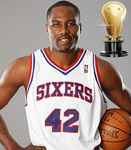Elton Brand had a nice season for the Philadelphia 76ers.