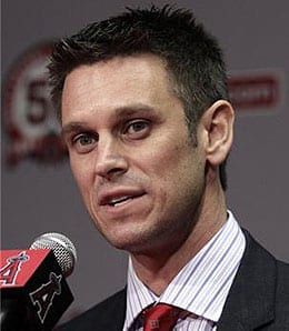 Jerry Dipoto has been making waves as GM of the Los Angeles Angels.