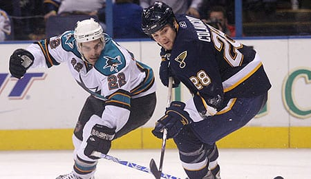 Carlo Colaiacovo has been playing very well for the St. Louis Blues.