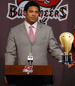 Josh Freeman stunk it up for the Tampa Bay Buccaneers.