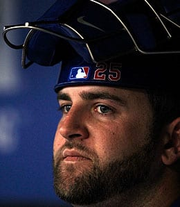Mike Napoli was out of his mind good for the Texas Rangers.