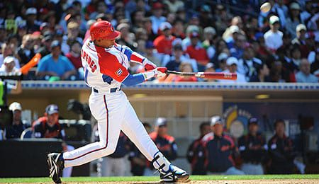 Yoenis Cespedes will try to add some offense to the Oakland A's.