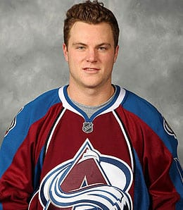 Jamie McGinn is lighting it up for the Colorado Avalanche.