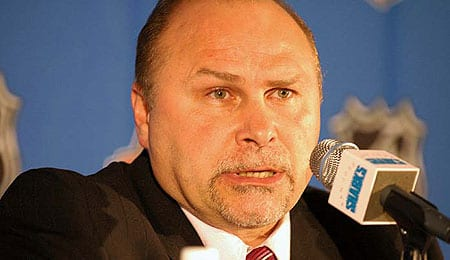 Barry Trotz has his Nashville Predators two wins from the second round.