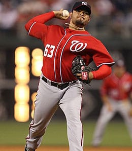 Henry Rodriguez can bring the heat for the Washington Nationals.
