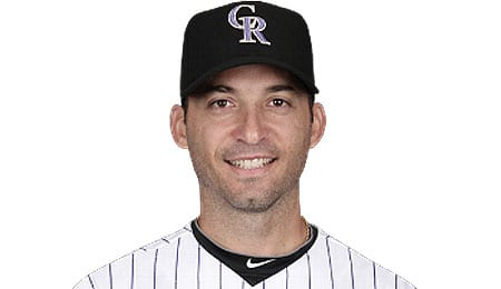 Marco Scutaro will man shortstop for the Colorado Rockies.