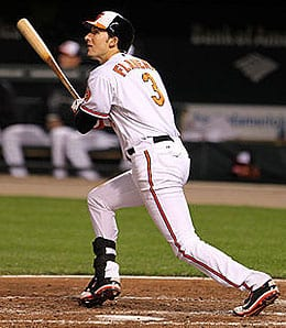 Ryan Flaherty is playing a super utility role for the Baltimore Orioles.