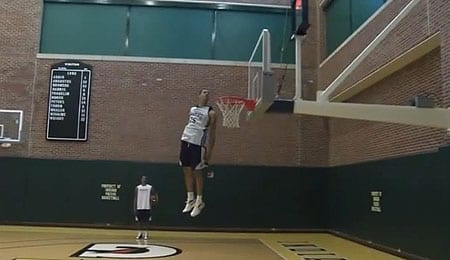 Gerald Green is starting for the Indiana Pacers.