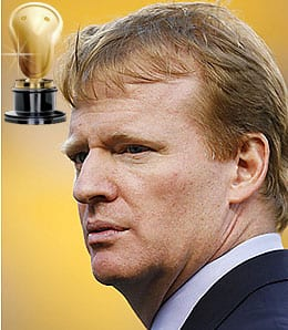 Roger Goodell had a nightmare on his hands.