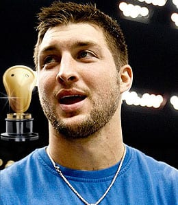 Tim Tebow was much ado about nothing for the New York Jets.