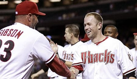 Aaron Hill was huge for the Arizona Diamondbacks.