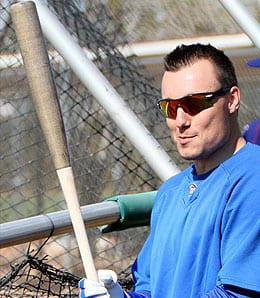 Jeff Baker will try to keep the good times going with the Texas Rangers.