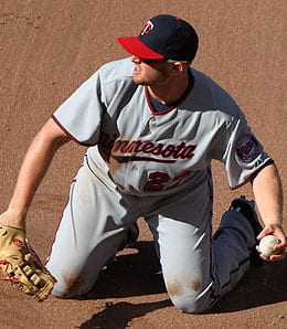Chris Parmelee is struggling for the Minnesota Twins.