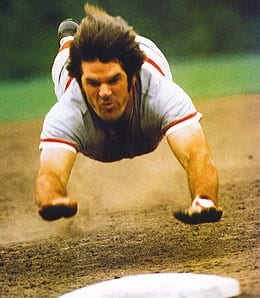 Pete Rose spent part of 1984 with the Montreal Expos.