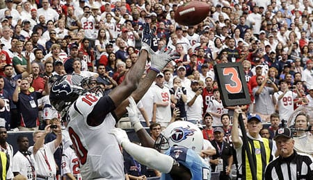DeAndre Hopkins has been inconsistent for the Houston Texans.