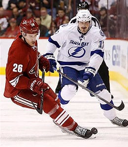 Michael Stone has played very well for the Phoenix Coyotes.