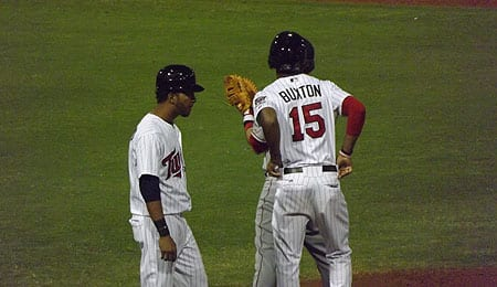 Byron Buxton is now the best prospect in baseball for the Minnesota Twins.