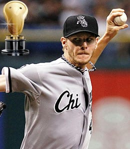 Chris Sale has a bit of temper for the Chicago White Sox.