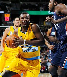 Jordan Hamilton was moved into the starting lineup for the Denver Nuggets.