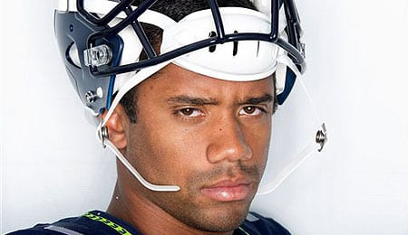 Russell Wilson has been drafted by the Texas Rangers.