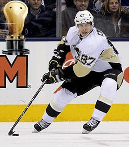 Sidney Crosby was stellar for the Pittsburgh Pengions.